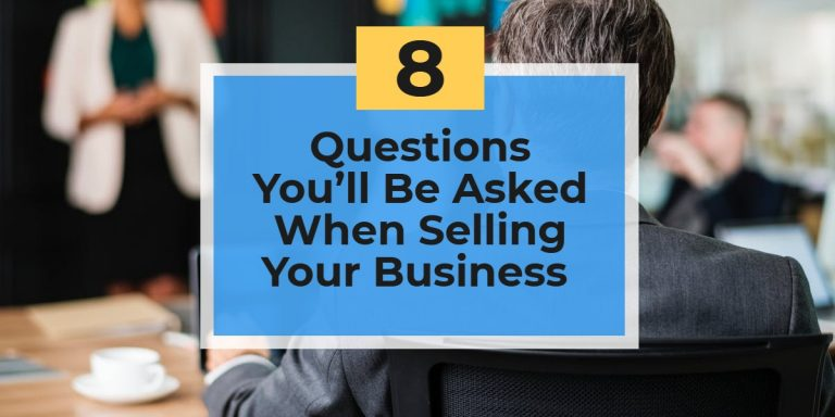 Sell My Business Questions