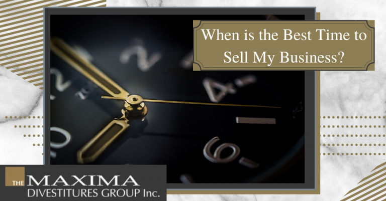 when is the best time to sell your business